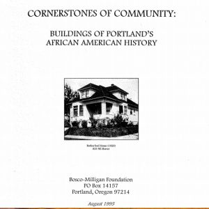 Example of AHC's work with Portland's African American Community