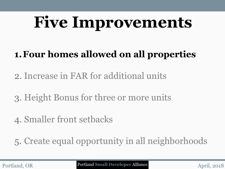 1. Five Improvements-1